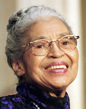 Rosa Parks, civil rights pioneer