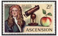 Newton - Ascension Islands postage
