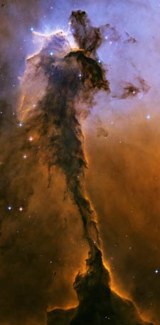 Eagle Nebula - mists of light?