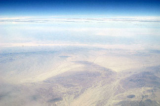Desert from air
