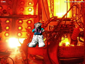 Magic Boots. Dr. Who copyright BBC. Click image for desktop picture.