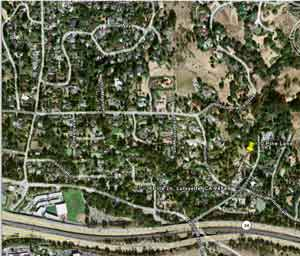 Pine Lane, 2007 (Google) - click for larger image