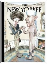 July 21 2008 New Yorker Cover - Obamas
