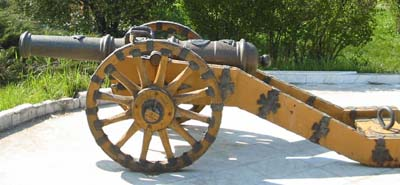 Small carriage cannon