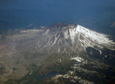 Mt. St. Helens 2008. Photo by Alex Forbes.